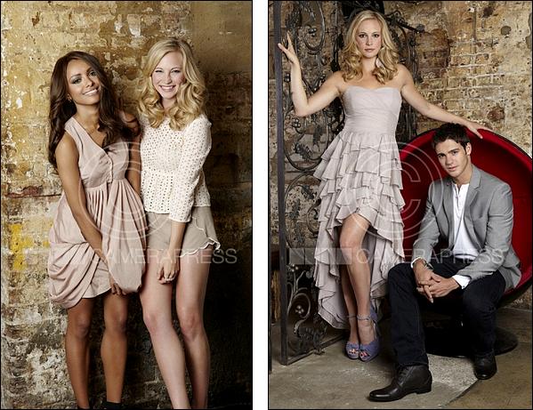 Nouveau photoshoot Candice Accola, Kat Graham et Steven R ...
