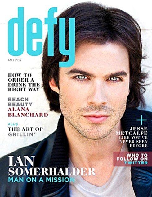 Ian pour Defy Magazine + Twitters !