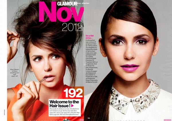 Nina pour Glamour Magazine + Spoilers