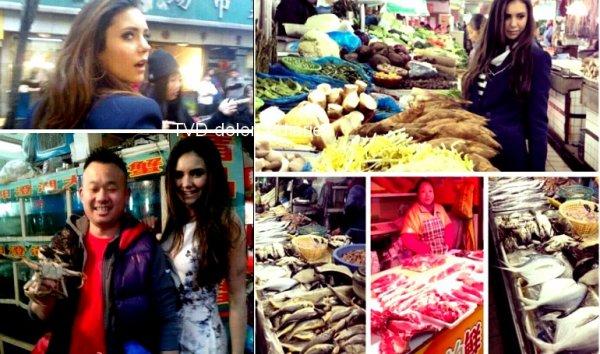 Nina in Shangaï + Twitter + Spoilers