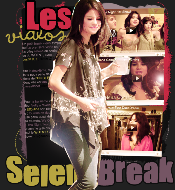 Live chat & video's time ! Selena est so cuuute *-*