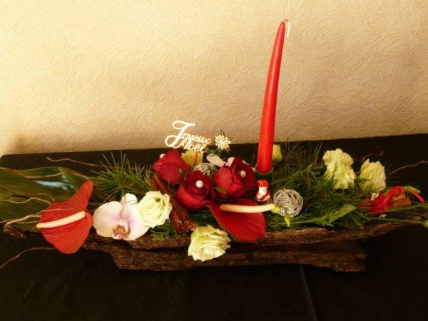 Centre de table pour Noël