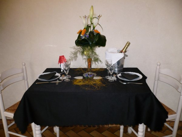 TABLE EN FETE
