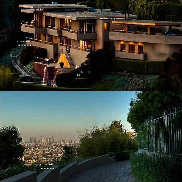 . Découvrez le nouveau chateau de Cheryl Cole dans le très chic quartier de Beverly Hills !. Bon elle possédait déjà un appartement dans le quartier très huppé de West Hollywood ! Mais Cheryl Cole qui souhaite s'exporté au États-Unis voit plus grand et aurait donc acheter une villa de 5.5million $ sur les hauteurs de Beverly Hills à Los Angeles ! La maison possède 6 chambres, 4 salles de bain, une piscine, un jacuzzi, une salle de jeux. Plusieurs salles à manger ! Dans un style espagnol la maison offre une magnifique vue sur tout Los Angeles ! La Belle Anglaise qui adore cuisiné sera aux anges dans sa magnifique nouvelle cuisine !.