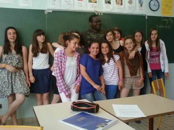 Mon prof d anglais et les filles de ma classe