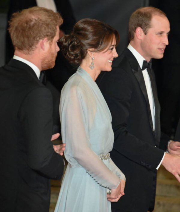 Kate / William / Harry - Soirée 007