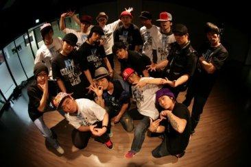 Korean breakdance