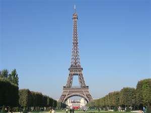 En haut de la tour Eiffel !!