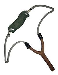 Lance-pierre Mirage aluminium-fronde manche pistolet chasse