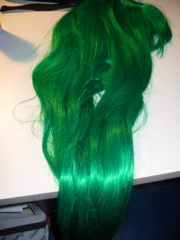 Deuxième étape: la perruque