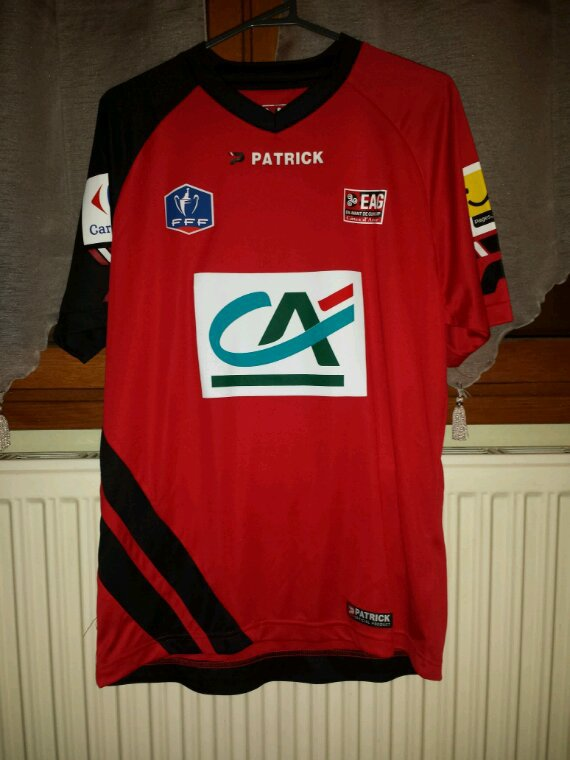 Maillot de coupe de France   de guingamp  porté (paul Babiloni)