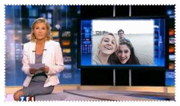 Annonces de Claire Chazal sut TF1