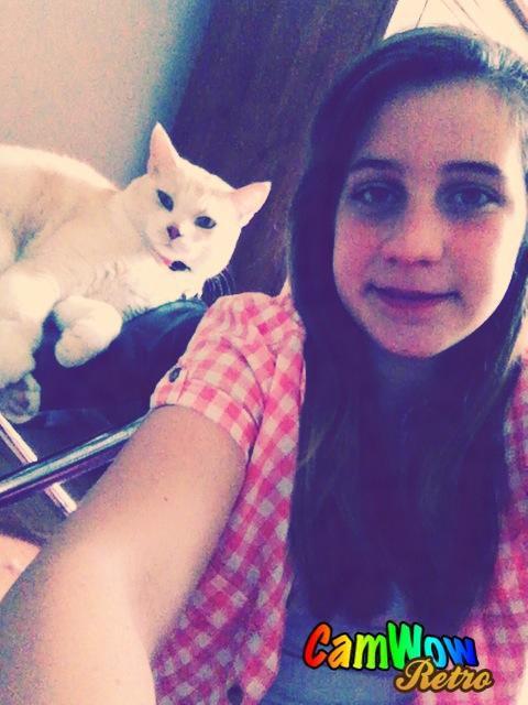 Mon Chat Et Moi <3