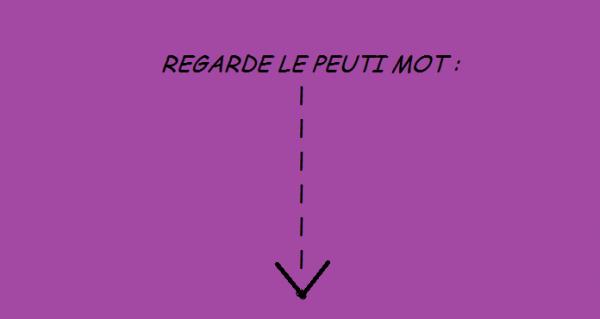 REGARDE LE PEUTI MOT :3