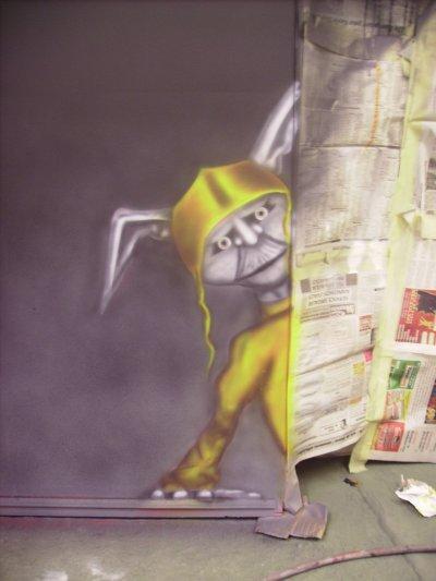 Porte interieur du troll's