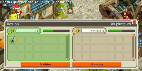 Donjon Bouftou, Raté ! :/
