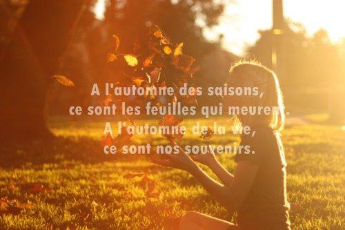 citation automne