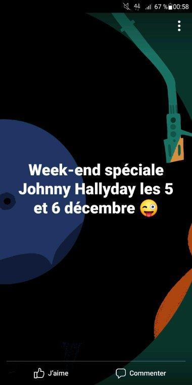 Prochaine playlist spéciale Johnny
