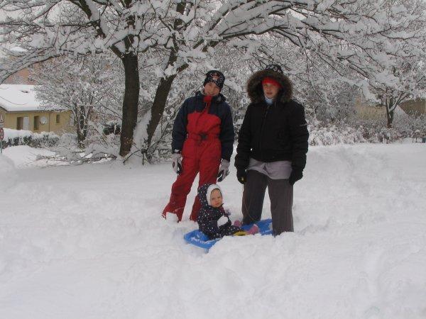 la neige en 2010