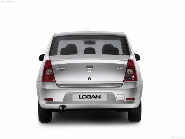 Une Dacia Logan ( en cours ) PS: Deviner les éléments de carrosserie utilisés.