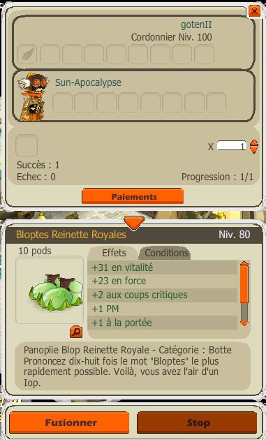 On commence à crafter :)