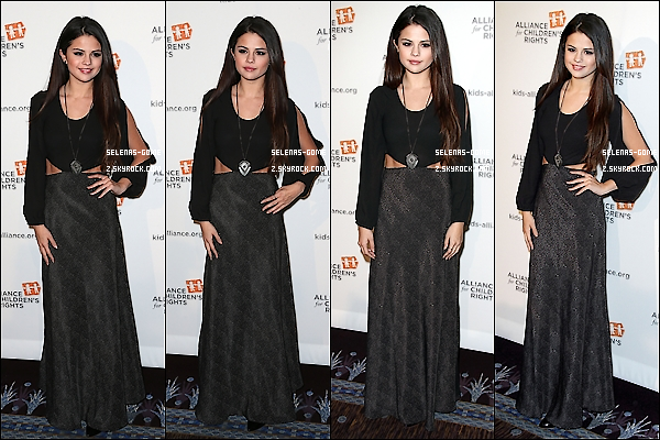 07 MARS 2013: Selena.Gom' était à la 21e cérémonie annuelle des Alliance For Children's Rights