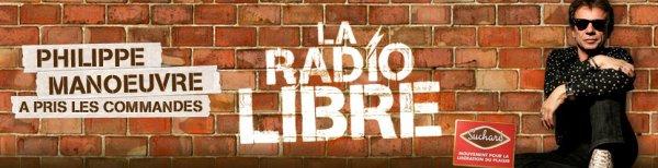 Philippe Man½uvre prend les commandes de la Radio Libre!