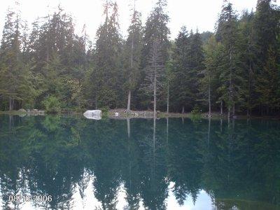 lac vert - haute savoie