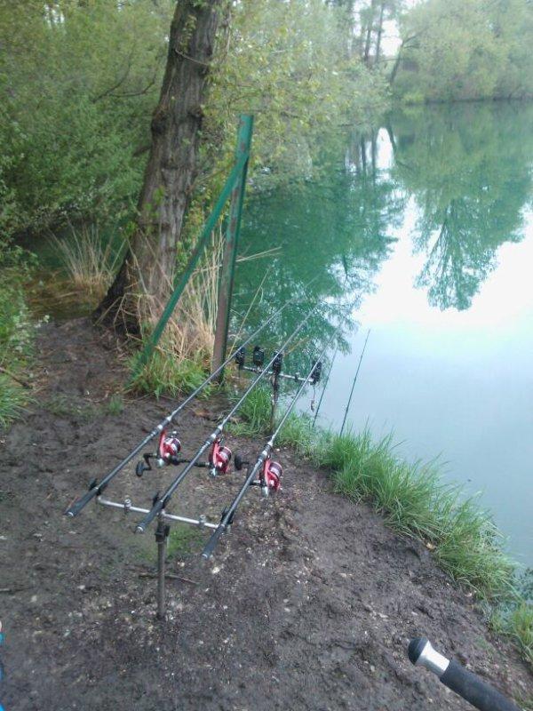 Mes cannes ca pêche