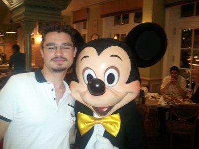 moi et les personnages de Disney (2)