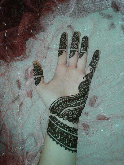 Henna Naturel Main Motif Simple Et Original 5 Euros Tatouages