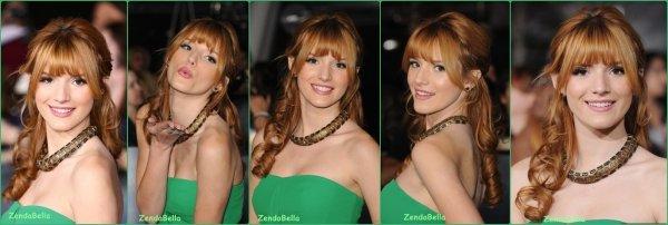 """Bella et Tristan à la première de """"Twilight Breaking Dawn Partie 2"""" le 13/11"""
