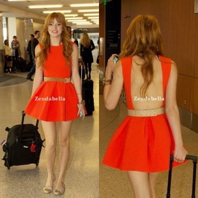 Bella à l'aéroport !