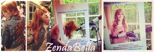 Nouvelles Photos Twitter de Bella !