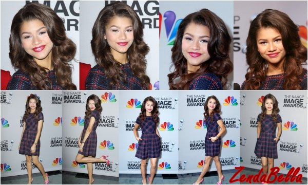 Zendaya au 44ème NAACP Image Award Announcements !
