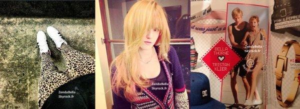 Nouvelles Photos Twitter de Bella et Zendaya (3.01.2013)