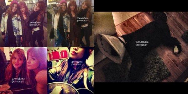 Nouvelles Photos Twitter de Bella et Zendaya (4.01.2013) !