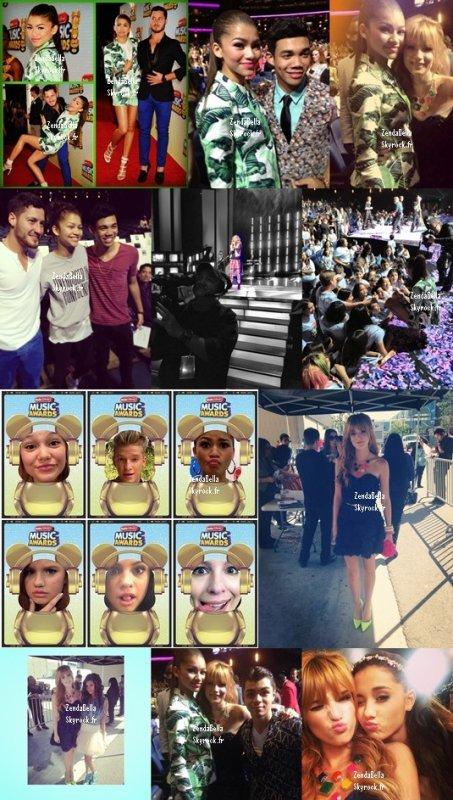 Photos Mobli et Instagram de Bella et Zendaya 27.04.13