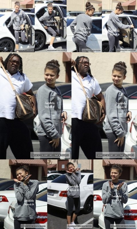 Photos Mobli et Instagram de Bella et Zendaya 27.04.13
