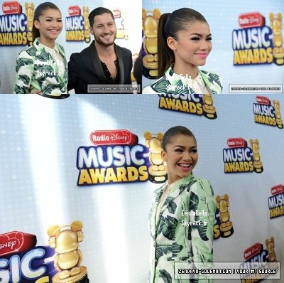 Zendaya et Val au RDMA (Radio Disney Music Awards) le 27.04.13