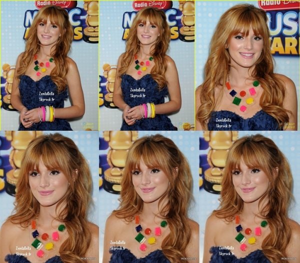 Bella au RDMA (Radio Disney Music Awards) 27.04