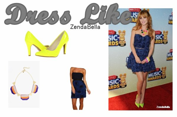 Bella au RDMA (Radio Disney Music Awards) 27.04