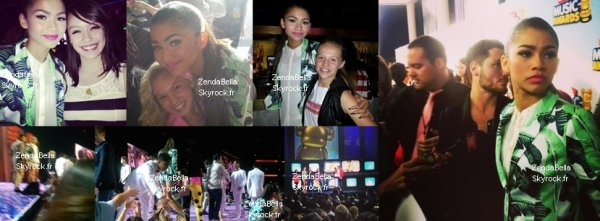 Autres photos de Bella et Zendaya au RDMA (Radio Disney Music Awards) 2013