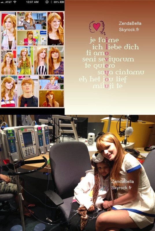 Autres photos de Bella et Zendaya au RDMA (Radio Disney Music Awards) 2013