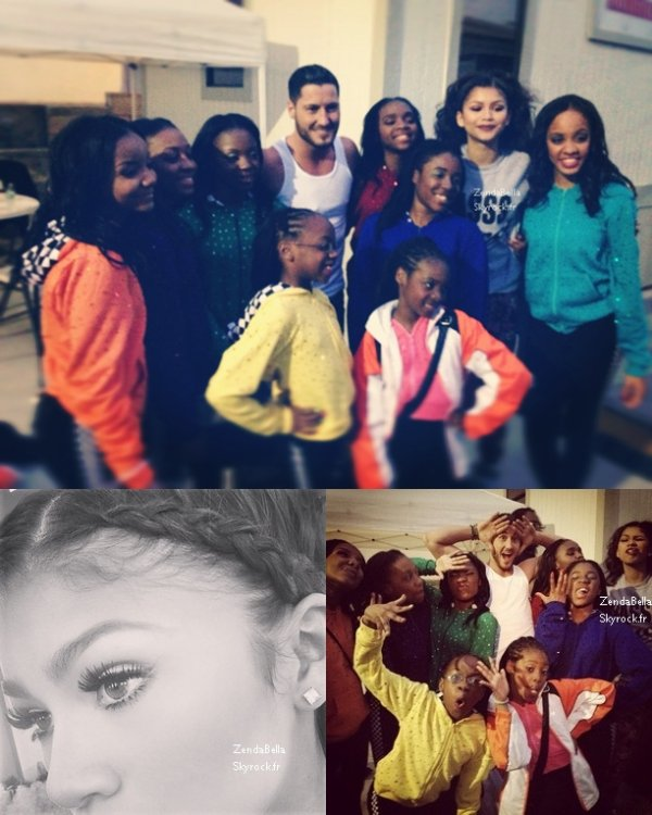 Photos Instagram et Mobli de Bella et Zendaya  -30.04.13-