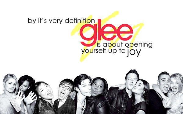 """""""Glee c'est s'ouvrir à la joie"""""""
