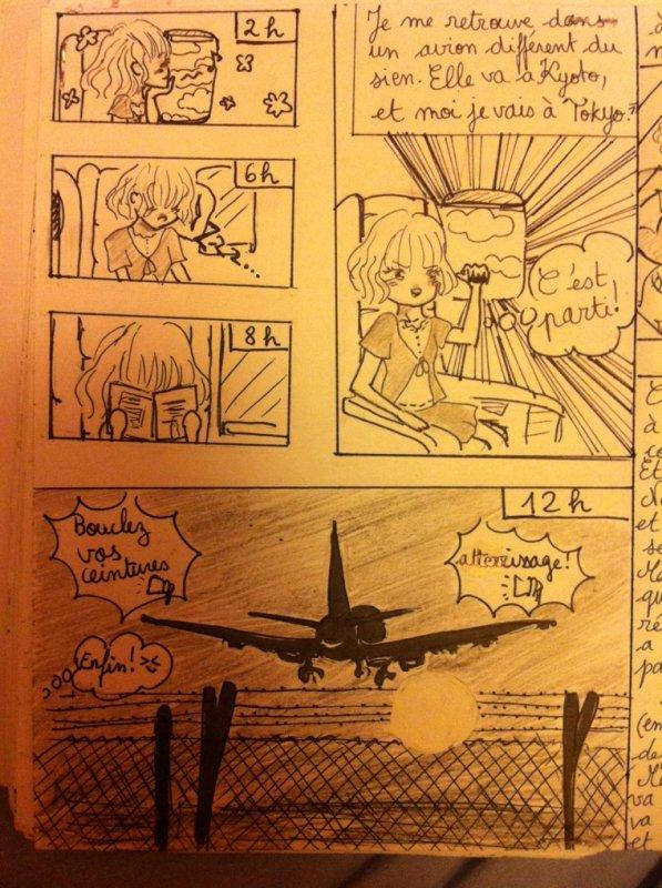 LE VOYAGE : pages 1,2,3,4