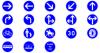 Panneaux de la sécurités routières  A3