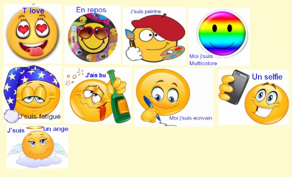 Ma collections Smiley