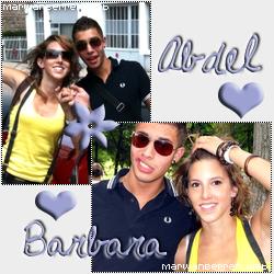Le Couple Abdel ( Marwan Berreni )  et Barbara ( Léa François )